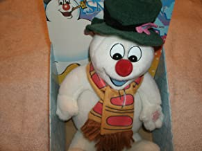 Gemmy Vintage 1998 Musical Dancing Light-up Frosty The Snowman Plush 12