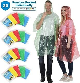 disposable poncho bulk