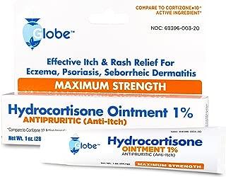Hydrocortisone Maximum Strength Ointment 1%, USP 1 oz (Compare to Cortizone-10) (1 Tube)