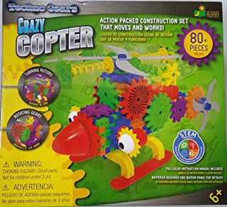 Crazy Copter Action Packed Construction Set That Moves and Works