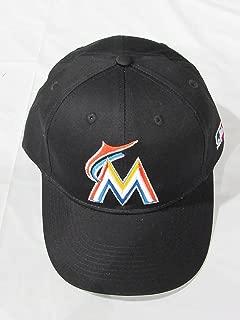 MLB Replica Adult Baseball Cap Various Team Trucker Hat Adjustable MLB Licensed , Miami Marlins - Home