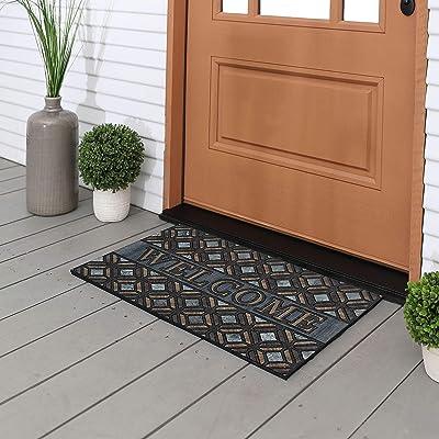 Mohawk Home 4908 18714 018030 EC Kingsley Inlay Doormat, Brown
