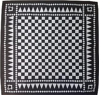 Freemasons Masonic Pocket Square Handkerchief with Square and Compass S&C