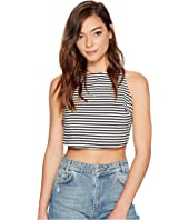 Roxy - Plans I Was Chasing Stripe Crop Top