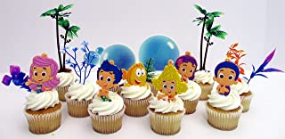 Stupendous Best Bubble Guppies Cupcake Cake In 2020 The Comprehensive Reviews Birthday Cards Printable Trancafe Filternl