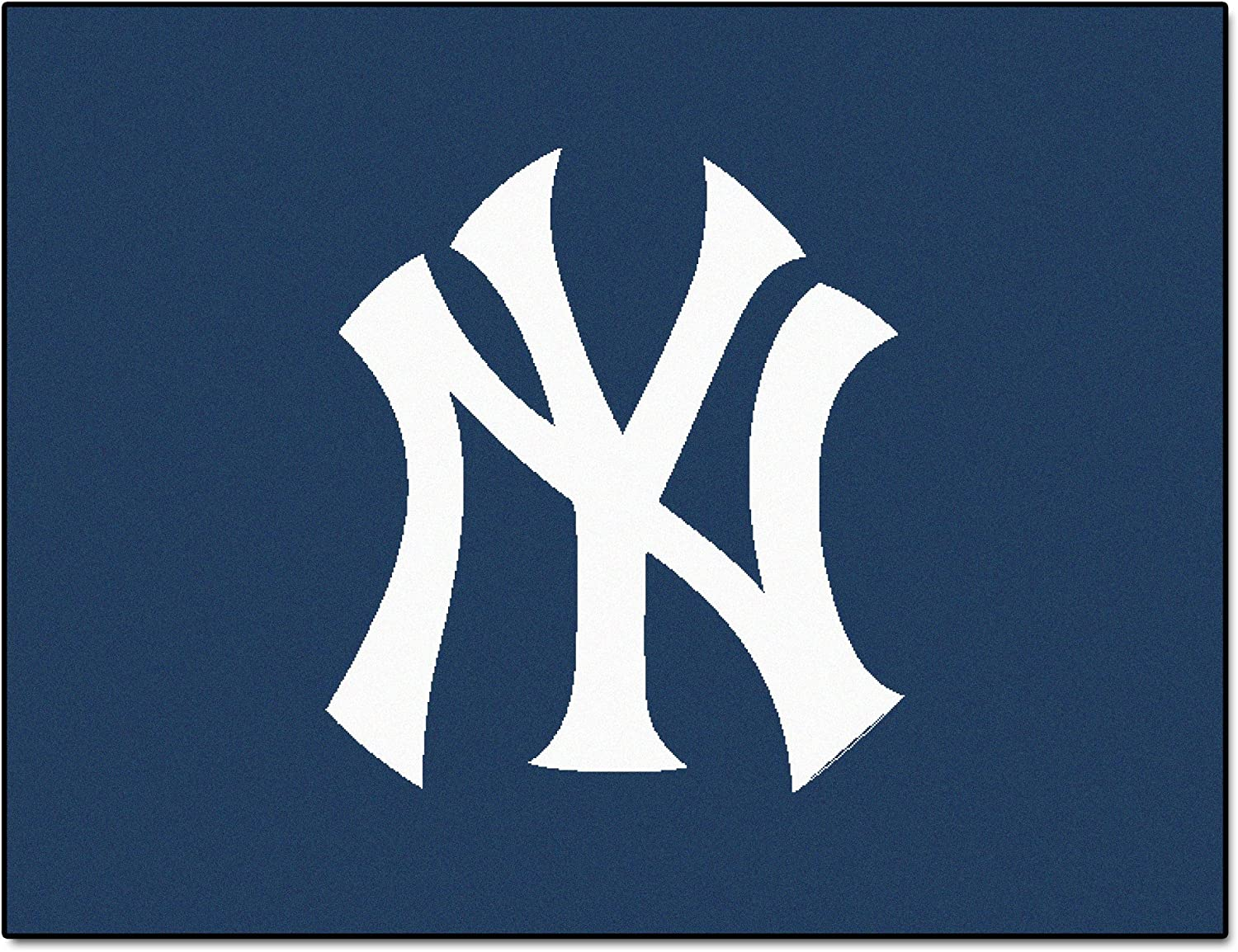 FANMATS MLB New York Yankees All-Star Face Rug Max 47% OFF Nylon Sale Special Price