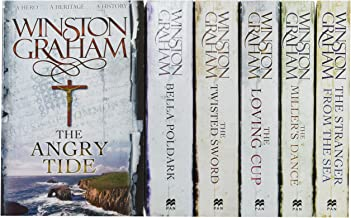 Best Winston Graham Poldark Series 6 Books Collection Set (Poldark books 7-12) (The Angry Tide, The Stranger From The Sea, The Miller