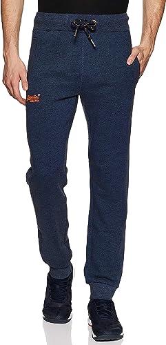 Superdry Label Cuffed Jogger Pantalon De Sport Homme