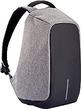 grey bobby anti theft backpack