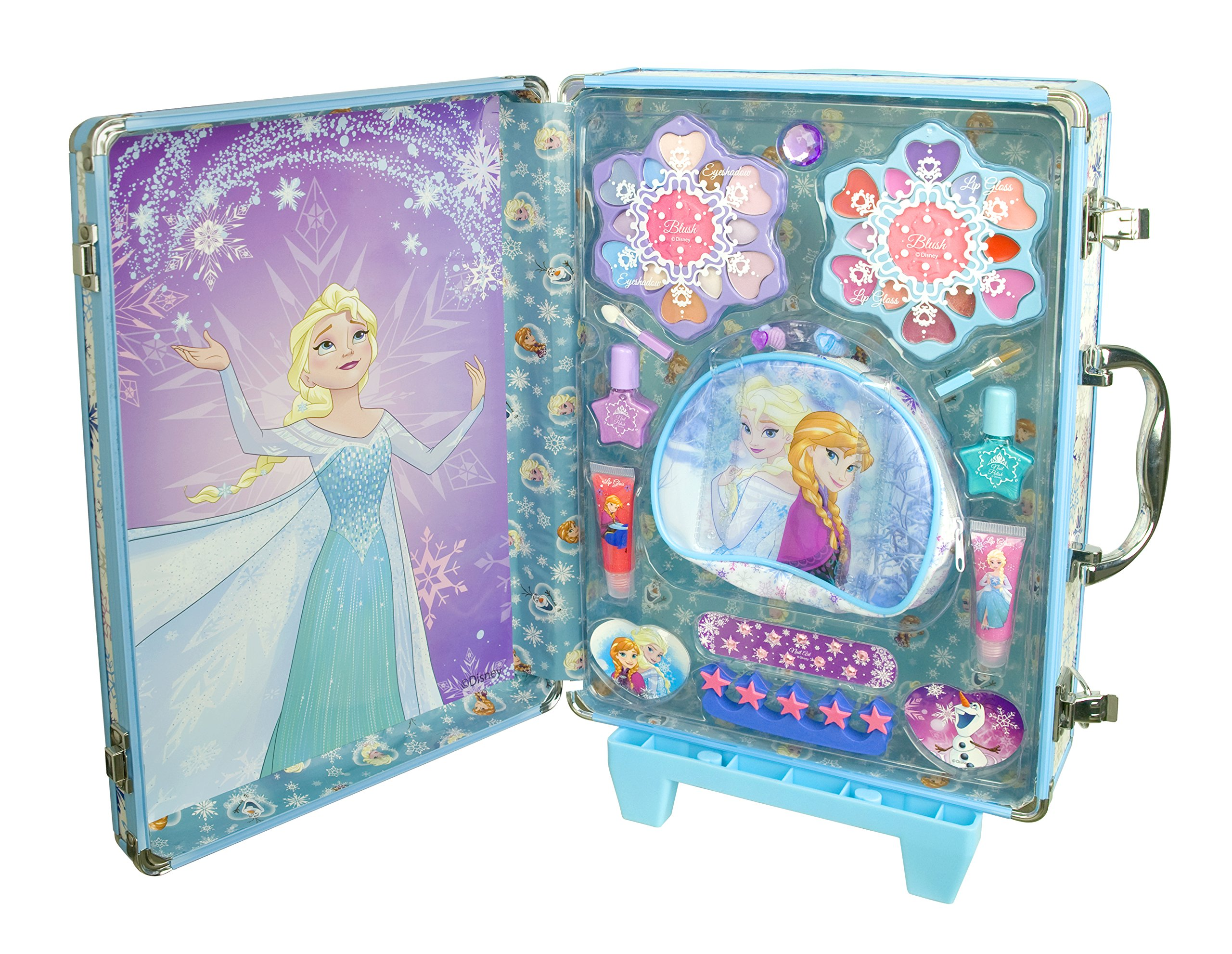 Disney Frozen - Icy Adventures Beauty Trolley, pack de maquillaje (Markwins 9607310): Amazon.es: Juguetes y juegos