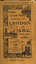 Philips' Clear Print Reference Map of London with A.B.C. Picture Guide and Index