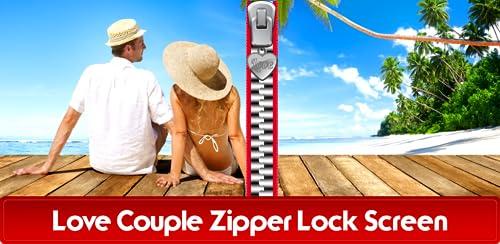 『愛のカップルジッパーロック画面』のトップ画像