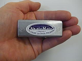 SkateMate patented handheld Ice Skate Sharpener / Conditioner for ALL ice skates, Ice Hockey, Speed skates or Dance! by Skatemate