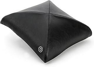 Zyllion ZMA-20 Luxury Shiatsu V-Spring Massage Pillow with Heat (Black)- One Year Warranty by Zyllion