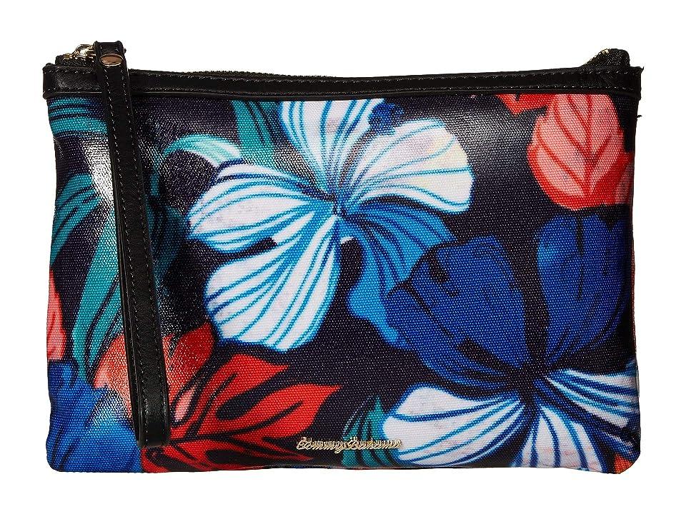 Tommy Bahama Tejar Wristlet (Floral(Ocean Deep)) Wristlet Handbags