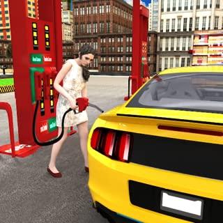 Car Gas Station: Big City Simulator