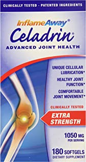 Celadrin® Advanced Joint Health 1050 Mg, 180 Softgels Fast, Long Lasting Joint Comfort