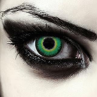 9de4ba4316 Lentillas de colores verdes para Halloween hombre-lobo costume lentes de  tres meses sin dioprtías