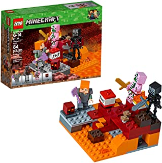 LEGO Minecraft The Nether Fight, Multi-Colour, 21139