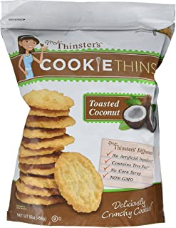 Mrs. Thinster's TOASTED COCONUT Cookie Thins 16 Oz