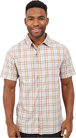 Short Sleeve Off The Grid Plaid Shirt