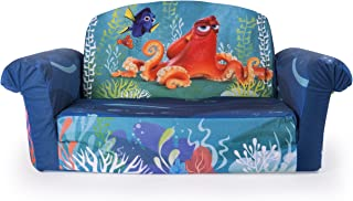 Marshmallow Furniture Children's 2 in 1 Flip Open Foam Sofa, Disney Pixar Finding Dory, by Spin Master