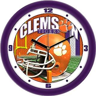 SunTime Clemson Tigers - Football Helmet Wall Clock