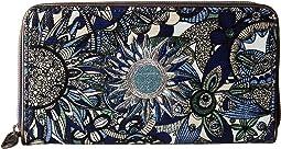 Artist Circle Large Zip Around Wallet