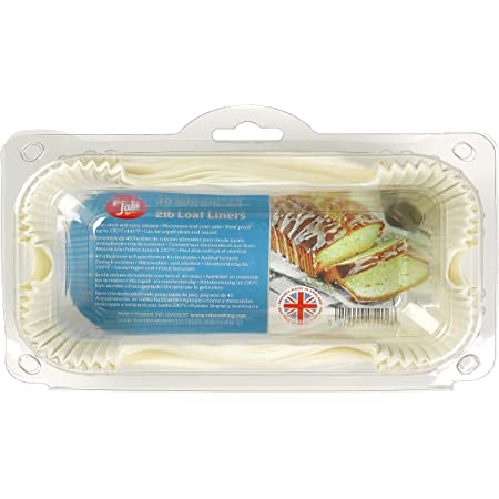 40 x Tala 1lb Siliconised Non Stick Greaseproof Loaf Tin Cake Cases Liners