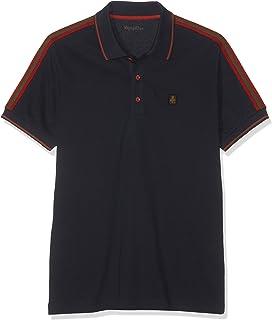 RefrigiWear Men's Stripe Cole Polo Shirt
