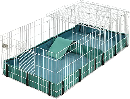Midwest Guinea Habitat Plus Cage with Top Panel