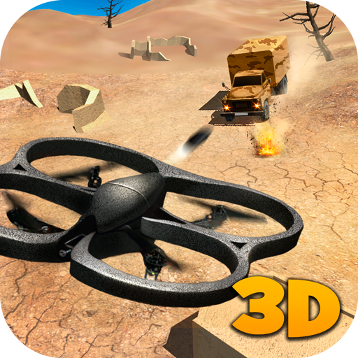 Machine Gun Quadcopter Simulator: Gunner Multirotor Sim  Minigun Drone Flying Simulator   Armed...