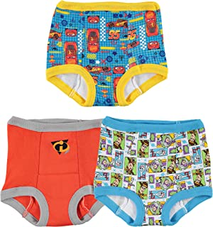 Disney Boys' Cars Toy Story Nemo 3 Pack Training Pant