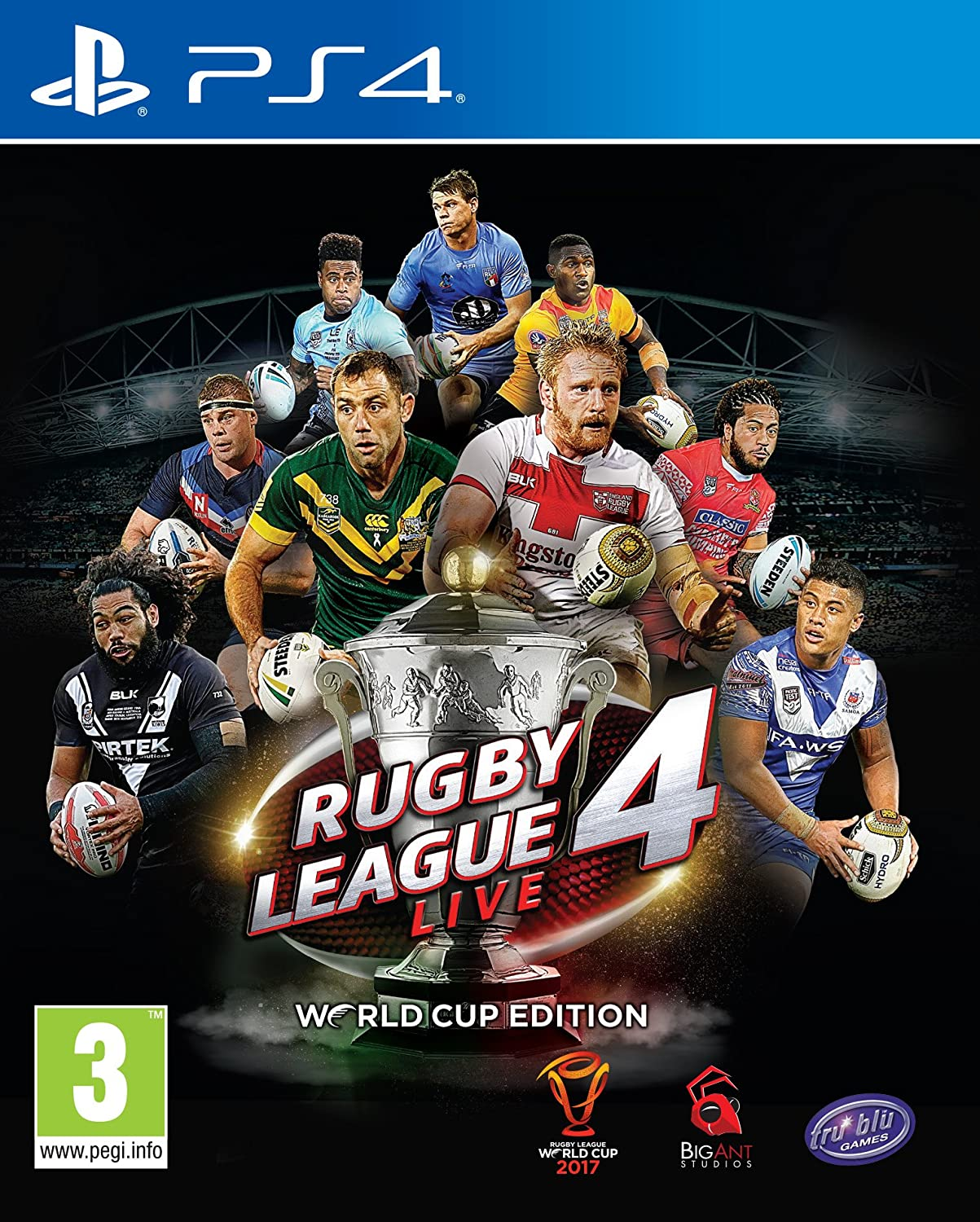 Rugby Selling and selling Gorgeous League Live 4 PS4 Edition Cup World