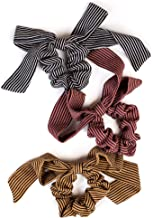 Women's Or Girl's Bow Hair Tie Scrunchies with Elastic Hair Types with A Unique Design Perfect for Girls and Women