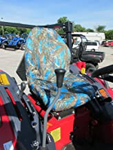 Durafit Seat Covers, KU20 Blue Mahindra Seat Covers for Tractor 1526 4WD HST and Shuttle ONLY