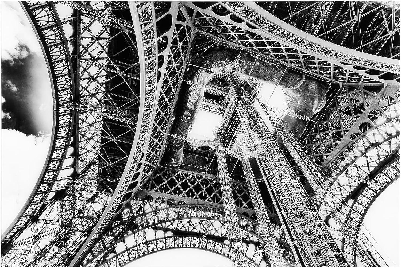 ATMOSPHERA ATMOSPHERA ATMOSPHERA Leinwand Foto Plexiglas Eiffel – 80 x 120 cm – GRAU B074R8XW88 | Realistisch  a62b77