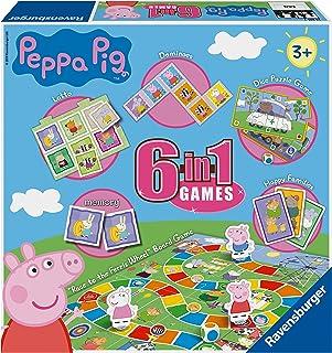 Ravensburger Peppa Pig - Juego 6 en 1 para niños y familias