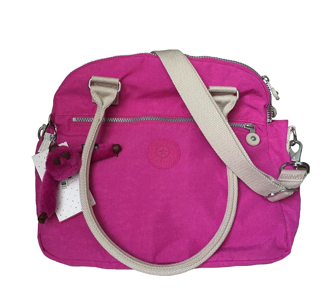 ミット後方ピアKiplingピンクOrchid Crossbody Shoulder Bag