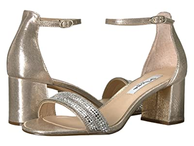 Nina Elenora (Taupe Reflective Suedette) Women