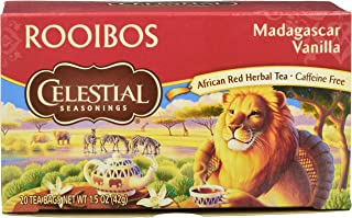celestial seasonings madagascar vanilla red tea
