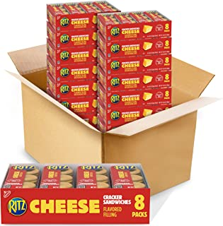 Ritz Cheese Cracker Sandwiches, 8Count Tray, 10.8 Oz (Pack Of 14)