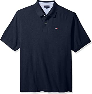 Tommy Hilfiger Men's Big and Tall Polo Shirt Ivy