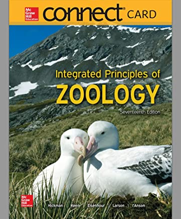 Connect Access Card for Integrated Principles of Zoology