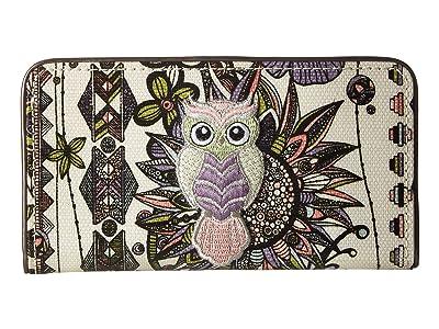 Sakroots Artist Circle Slim Wallet (Pastel Spirit Desert) Wallet Handbags
