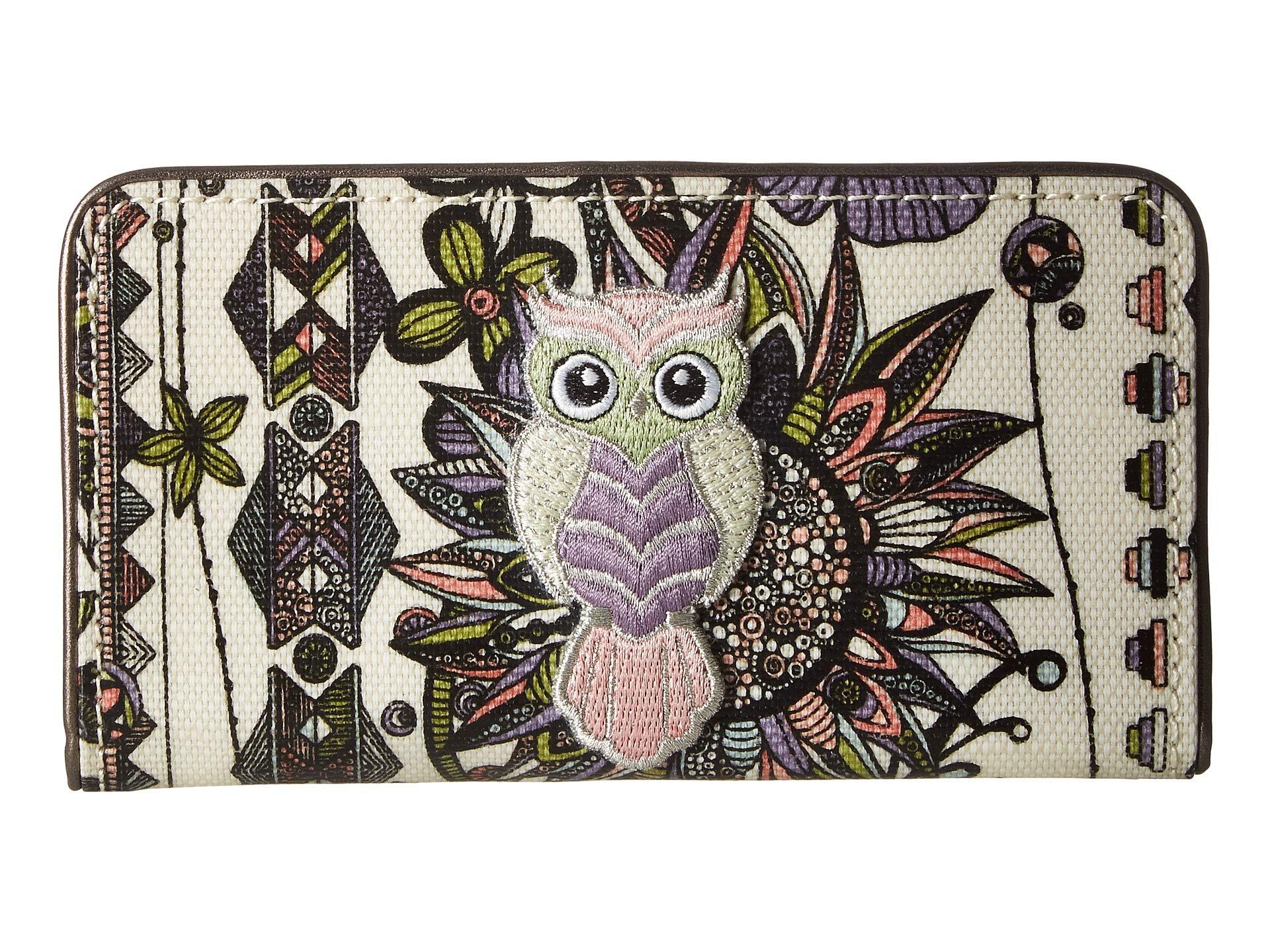 Desert Circle Spirit Slim Wallet Pastel Artist Sakroots vBwYw