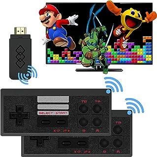 کنسول بازی ویدئویی بی سیم Retro را با 787 بازی ویدیویی یکپارچه ، Hd Output Nes Retro Game Console ، Old Arcade Plug and Play Games Video Console یک گزینه ایده آل برای کودکان و بزرگسالان است
