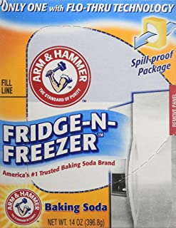 Arm & Hammer Baking Soda, Fridge-N-Freezer Pack, Odor Absorber, 14oz (Pack of 3)