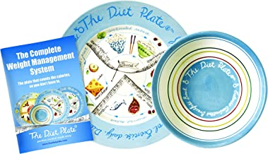The Diet Plate – CWMS Female Version Portion Control Fine Earthenware Estimated Price : £ 34,99
