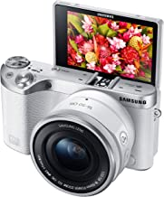 Samsung Electronics EV-NX500ZBMHUS NX500 28 MP Wireless Smart Compact System Camera with Included Kit Lens